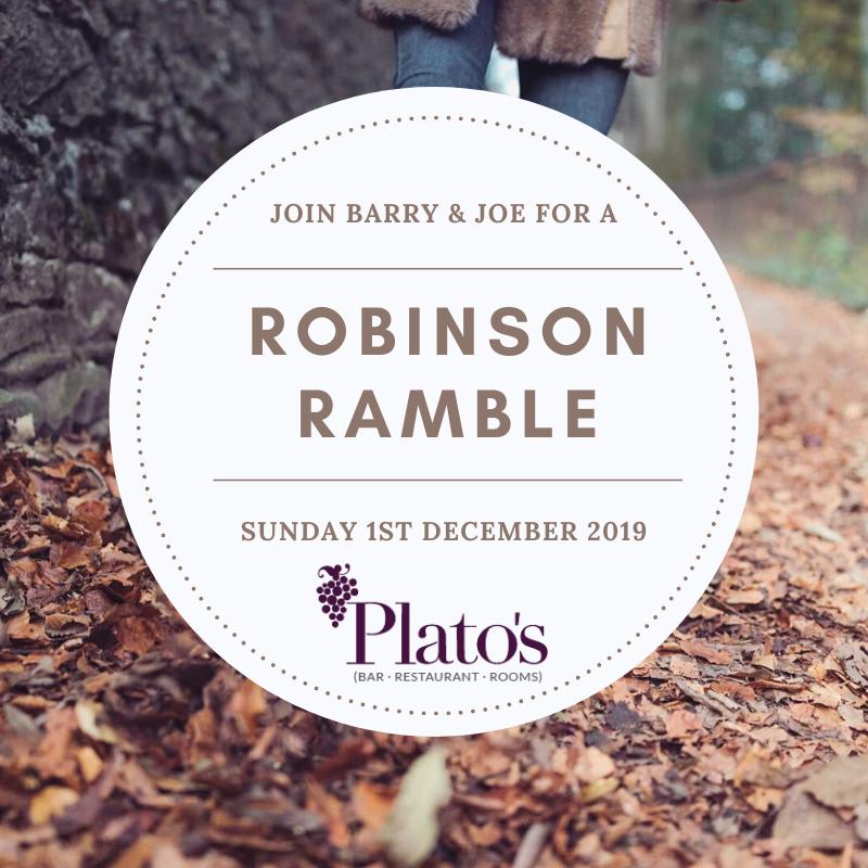 Robinson Ramble Poster December 2019